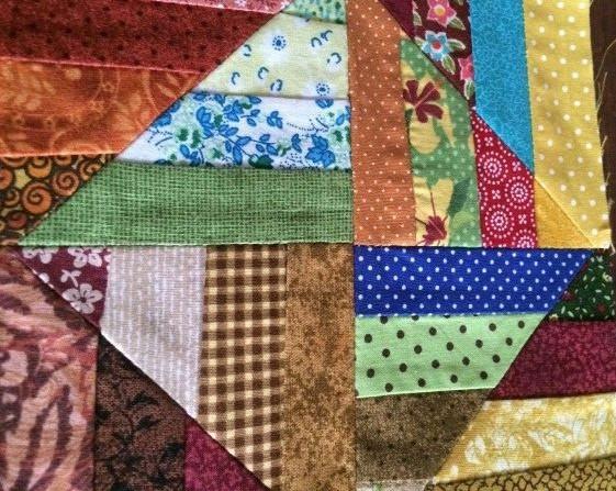 Membuat tas dari kain perca
