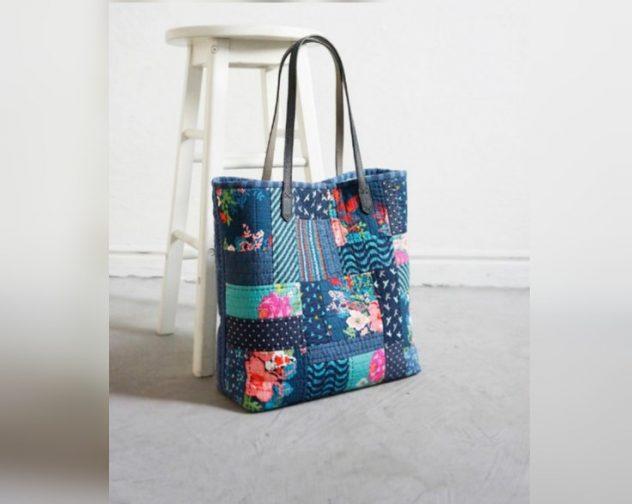 Cara membuat tas dari kain perca